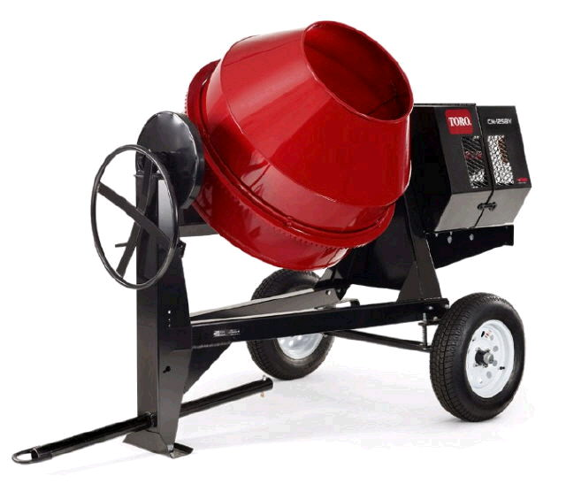 Where to find CONCRETE MIXER TOWABLE in Hazard