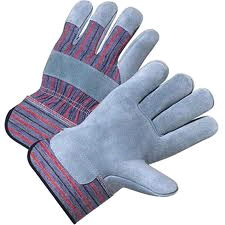 Where to rent GLOVES GREY JERSEY LEATHER PALM in Hazard KY