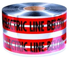 Where to rent DETECTABLE TAPE 5MILX1000  RED, ELECTRIC in Hazard KY