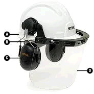 Where to rent STIHL HELMET SYSTEM RACHET ORANGE in Hazard KY