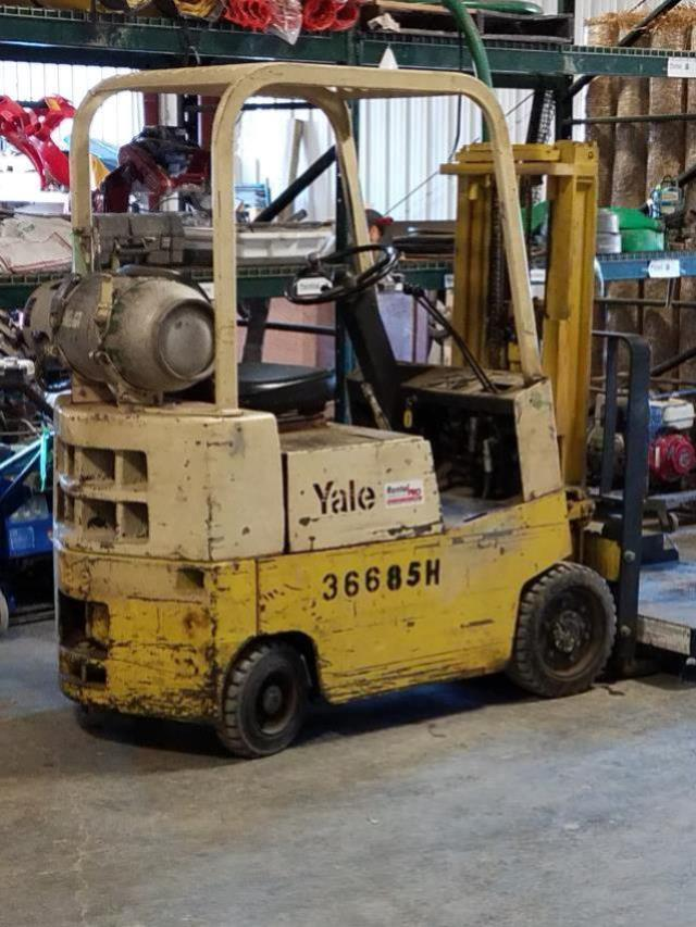 Where to find 2500lbs Industrial ForkLift Propane in Hazard