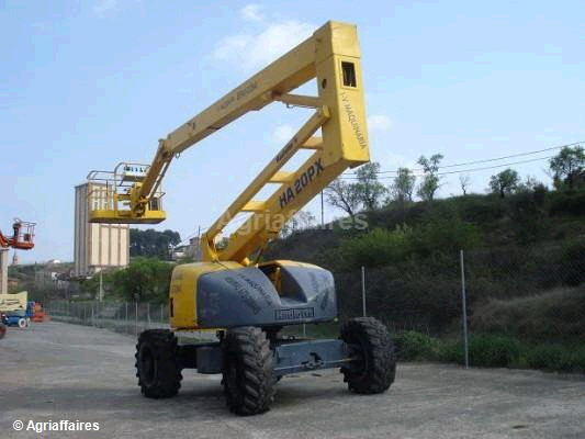 Where to find MANLIFT 60 34 ARTICULATED 4WD DIESEL in Hazard
